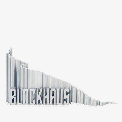 Rappresentazione 3D del monte blockhaus