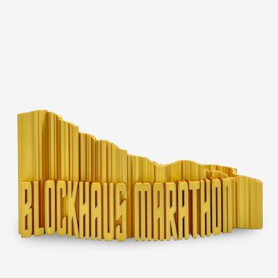Rappresentazione 3D blockhaus marathon percorso medio