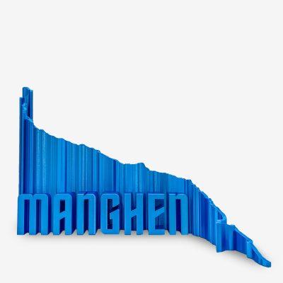 Rappresentazione 3D del passo mangen